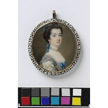 Portrait miniature - The Hon. Miss Eliza Booth