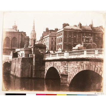 Photograph - Study of  Bristol  Bridge