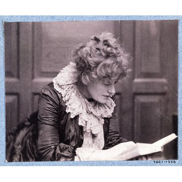 Photograph - Ellen Terry; Portraits of many persons of note photographed by Frederick Hollyer in three volumes, vol. III