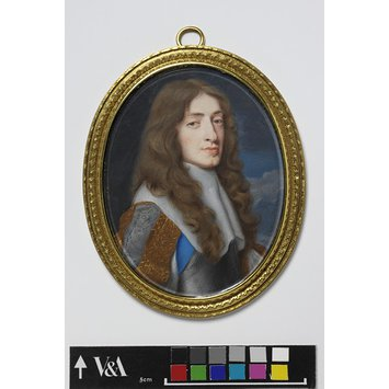 Portrait miniature - James, Duke of York, later James II