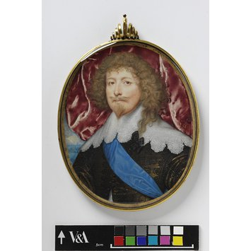 Portrait miniature - Edward Sackville, 4th Earl of Dorset