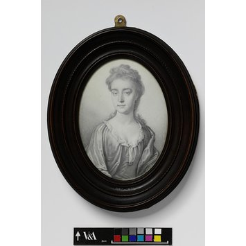 Portrait miniature - Portrait of a woman known as Sarah Churchill