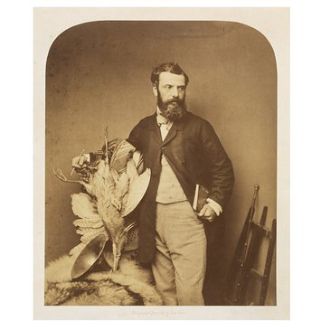 Photograph - Portrait of Richard Ansdell, painter