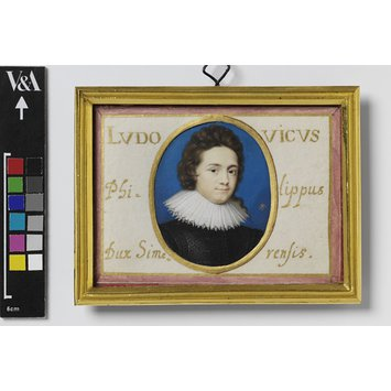 Portrait miniature - Ludwig Philipp, Duke of Simmern