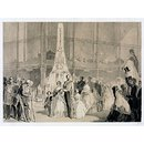 Her Majesty and the Princes passing through the Crystal Palace (Print)