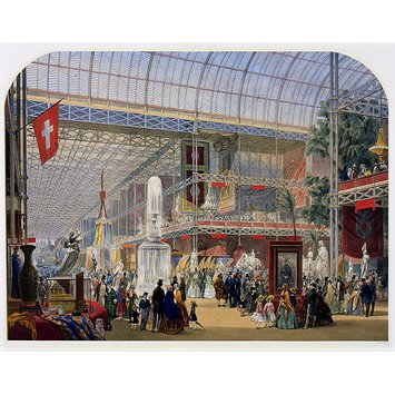 Print - General view, Crystal Palace