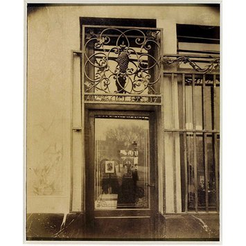 Photograph - Shopfront, Quai Bourbon, Paris, France