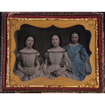 Photograph - Three girls