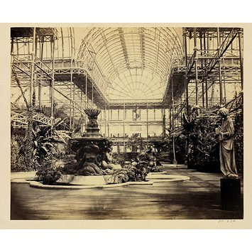 Photograph - Interior view: Crystal Palace