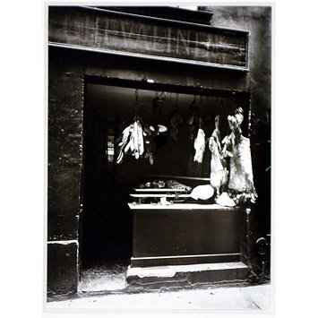 Photograph - Boucherie, rue Christine