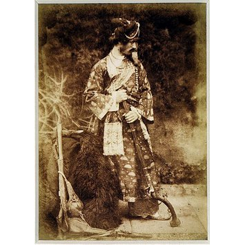 Photograph - Mr Lane in Indian Dress