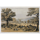 View from Kensington Gardens, looking down the King's Road (Print)