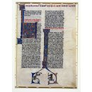 Leaf from the Teutonic Knights Bible (Manuscript)