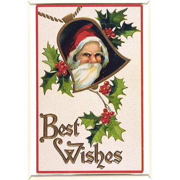 Greetings card - Father Christmas