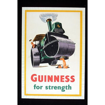 Poster - Guiness for Strength
