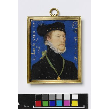 Portrait miniature - An Unknown Man, aged 24