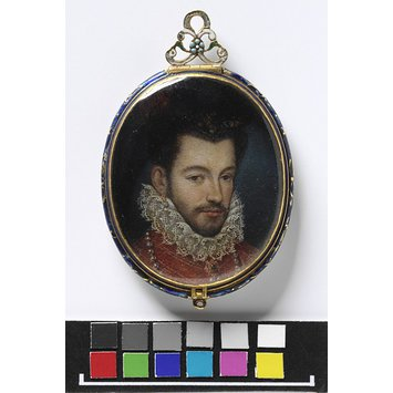 Portrait miniature - Portrait of Henry III, King of France