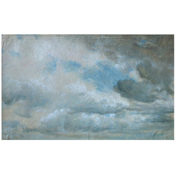 Oil painting - Study of Clouds