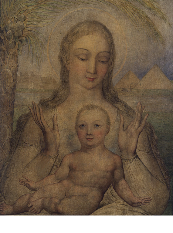 The Virgin And Child In Egypt Blake William V Amp A
