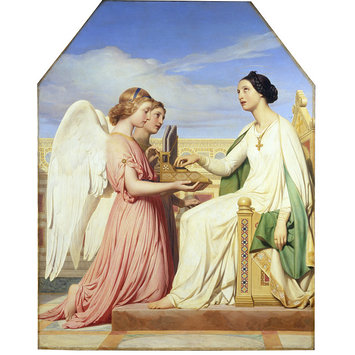 Oil painting - St Cecilia and the Angels