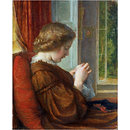 The Window Seat (Oil painting)