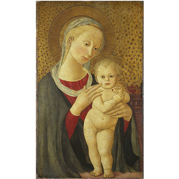 Tempera painting - The Virgin and Child