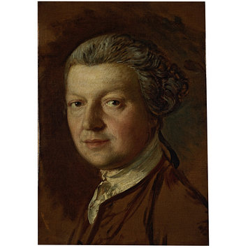 Oil painting - Portrait of Joshua Kirby (1716-1774)