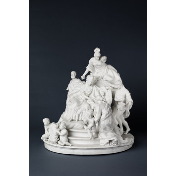 Figure group - The Birth of the Dauphin