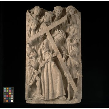 Panel - Christ bearing the Cross
