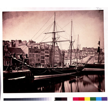 Photograph - 'La Reine Hortense' at Le Havre