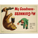 My Goodness My Guinness [Just think what a kink-ajou can do] (Poster)