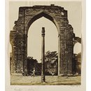The Arches and Iron Pillar near the Kutub Minar (Photograph)
