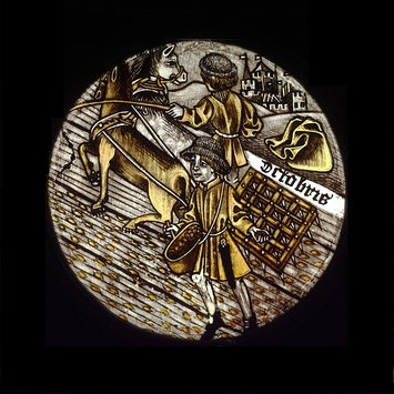 Panel - Labours of the Months; Month of October