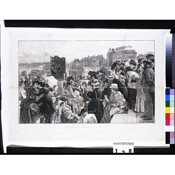 Print - Punch and Judy at the Seaside
