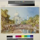 Taj Mahal Viewed from the Garden (Painting)
