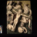 Christ nailed to the Cross (Panel)