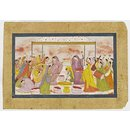 Ladies Celebrating the Holi Festival (Painting)