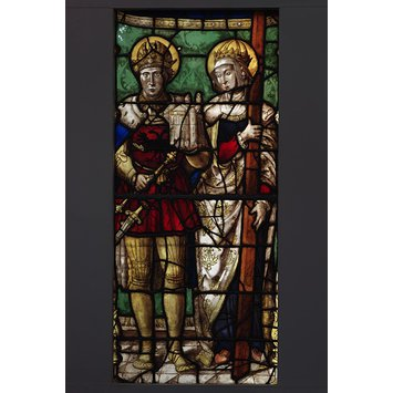 Panel - Saint Helena and the Emperor Constantine