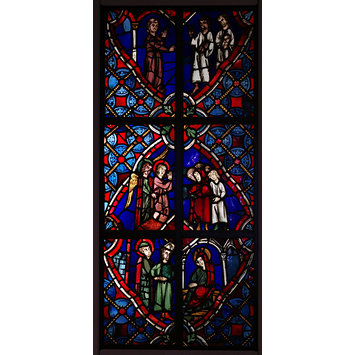 Panel - Life of the Virgin Mary, The
