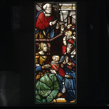 Panel - Saint Peter Preaching