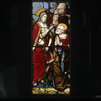 Panel - Christ appears to Saint Peter after the Resurrection