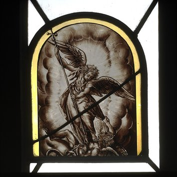 Panel - St Michael overcoming Satan