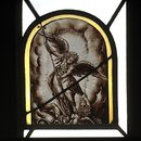 St Michael overcoming Satan (Panel)