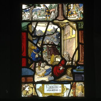 Panel - Tobit blinded by the swallows