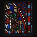 Childebert receives Saint Germanus (Panel)
