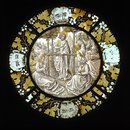 Saint John the Baptist Preaching (Roundel)