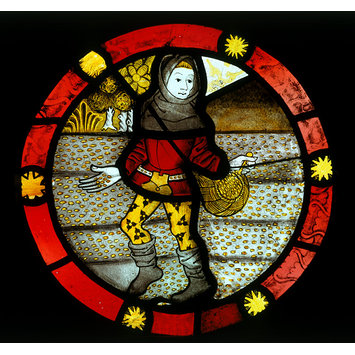 Roundel - October; The Labours of the Months