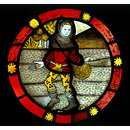 October; The Labours of the Months (Roundel)