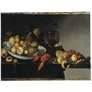 Still Life with Fruit, a Lobster and Game (Oil painting)
