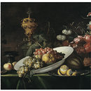 Fruit piece, with covered gilt goblet (Oil painting)
